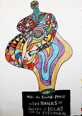 Affiche De Saint Phalle - Les nanas-exposition lolas