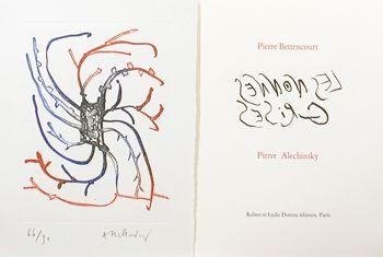 Livre Illustré Alechinsky - Les nonnes grises