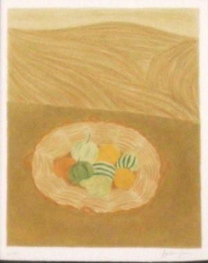 Lithographie Boncompain - Les nourritures terrestres