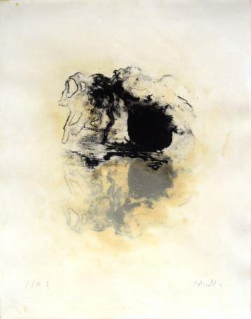 Lithographie Barcelo - Les oignons