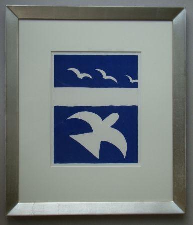 Lithographie Braque - Les Oiseaux