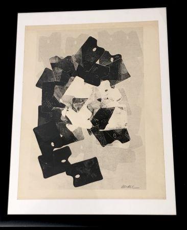 Monotype Arman - Les Palettes De Viallalt, 1966