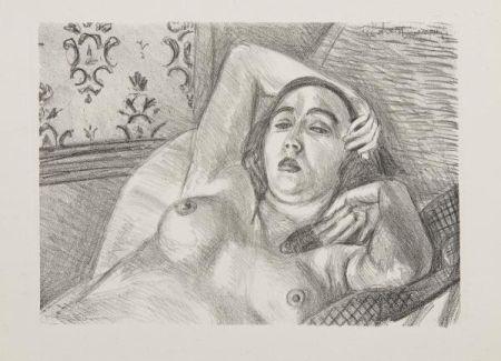 Lithographie Matisse - Les Peintres Lithographes de Manet à Matisse, circa 1925.