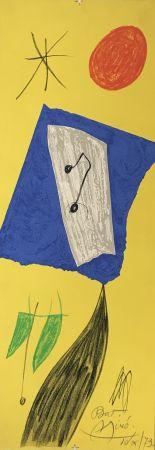 Lithographie Miró - Les Penalites de l'Enfer ou Les Nouvelles-Hebrides 2