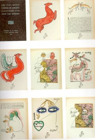 Pochoir Van Dongen - Les plus beaux contes de kipling