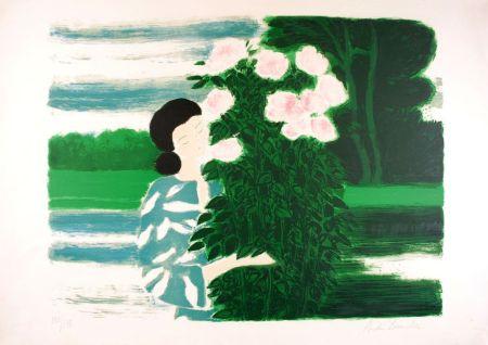 Lithographie Brasilier - Les Roses de Septembre