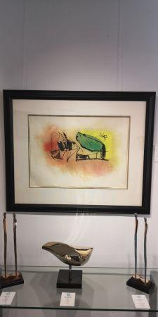 Eau-Forte Et Aquatinte Miró - Les Scarabees