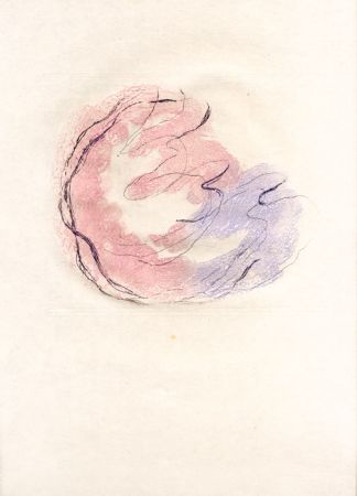 Eau-Forte Et Aquatinte Fautrier - Les seins et le sexe (Fautrier l'enragé)