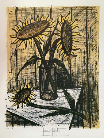 Lithographie Buffet - Les Soleils
