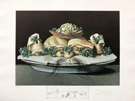 Lithographie Dali - LES SUPRENES DE MAILLAISE LILIPUTIENS