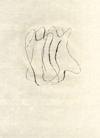 Eau-Forte Fautrier - Les torses nus (fautrier l'enragé)