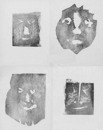 Gravure Picasso - Les transparents