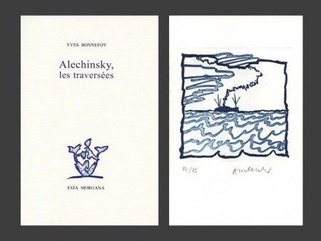 Livre Illustré Alechinsky - Les Traversées