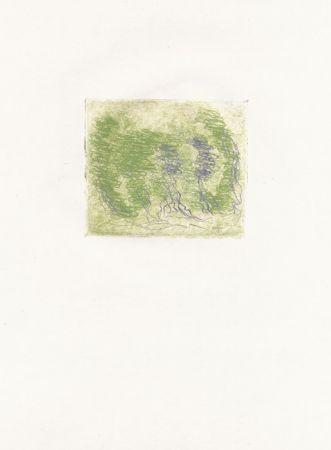 Eau-Forte Fautrier - Les trois arbres (Fautrier l'enragé)