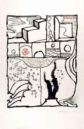 Eau-Forte Et Aquatinte Alechinsky - Les trois marches