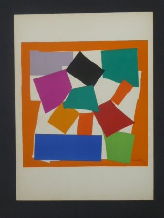 Lithographie Matisse - L'escargot, 1953