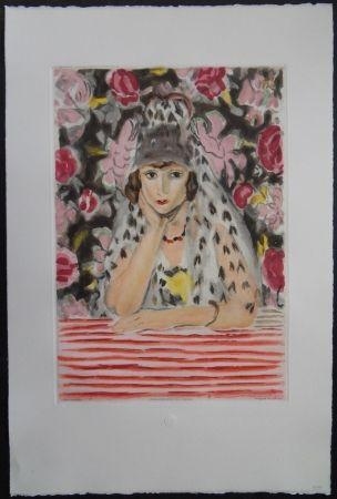 Eau-Forte Et Aquatinte Matisse - L'espagnole