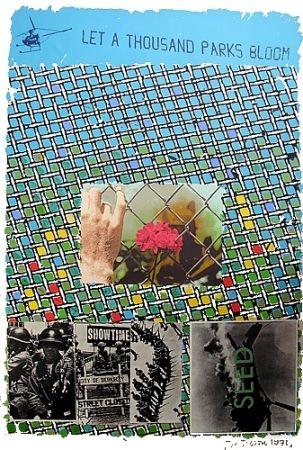 Lithographie Tilson - Let a thousand parks bloom
