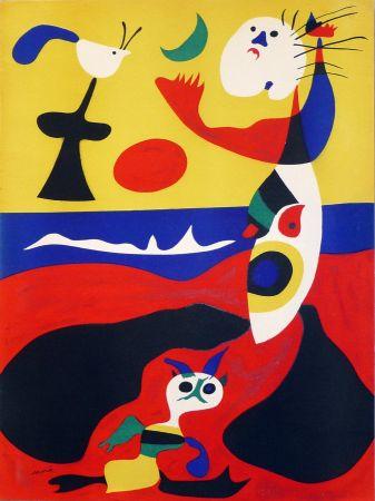 Pochoir Miró - L'Ete (D. 1310)