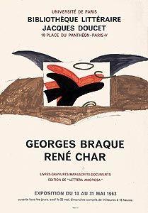 Affiche Braque - Lettera amorosa