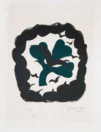 Lithographie Braque - Lettera amorosa : métamorphose
