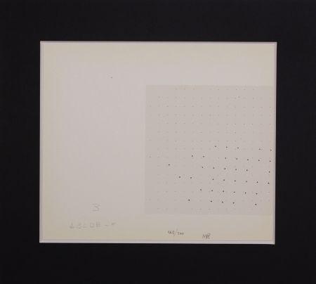 Sérigraphie Gastini - Lettera B