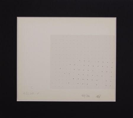 Sérigraphie Gastini - Lettera C