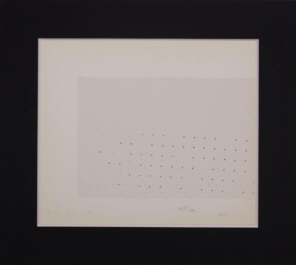 Sérigraphie Gastini - Lettera D