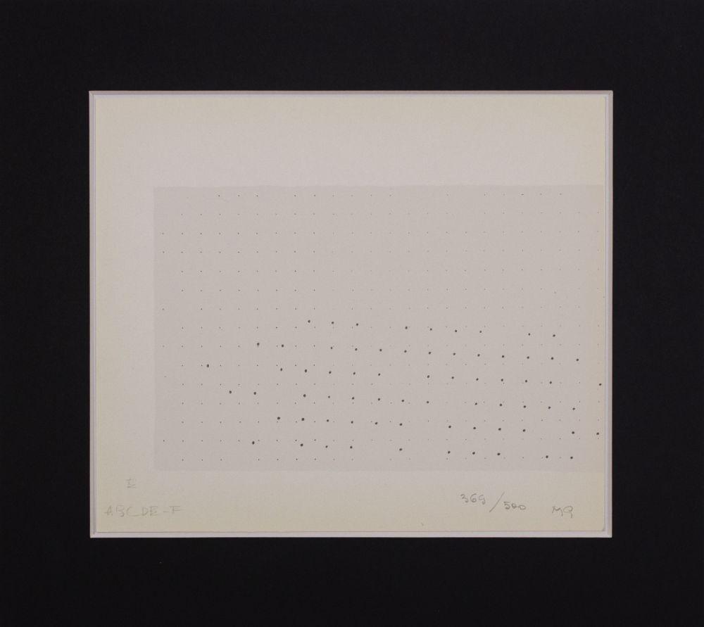 Sérigraphie Gastini - Lettera E