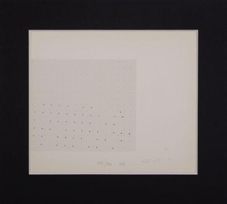 Sérigraphie Gastini - Lettera F
