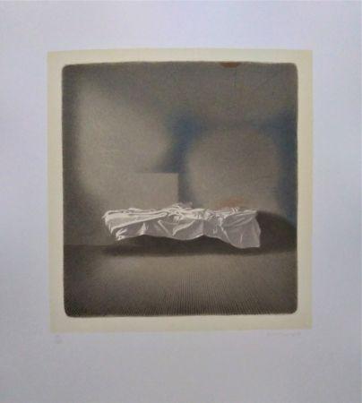 Lithographie Ferroni - Lettino