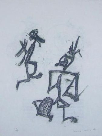 Lithographie Ernst - Lewis Carroll's Wunderhorn 28