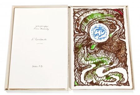 Livre Illustré Alechinsky - L'Excédante