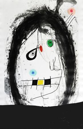 Gravure Miró - L´exilé noir