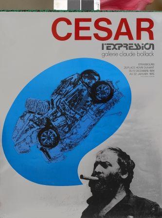 Sérigraphie Cesar - L'Expression