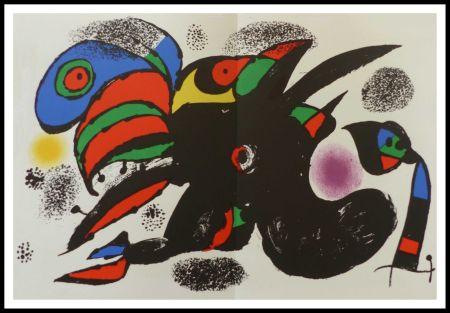 Lithographie Miró - L'extrême origine