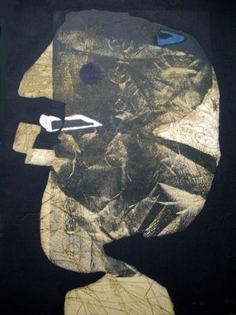 Eau-Forte Et Aquatinte Clavé - L'homme À La Pipe
