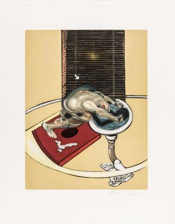 Eau-Forte Et Aquatinte Bacon - L'homme au lavabo