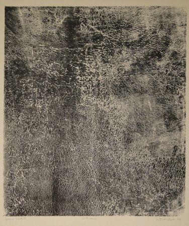 Lithographie Dubuffet - L'humus - Le Preneur d'empreintes