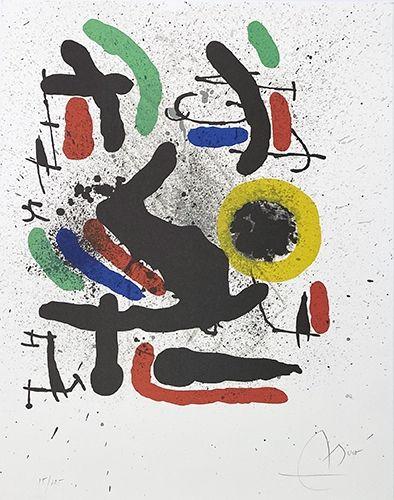 Lithographie Miró - Liberté des libertés