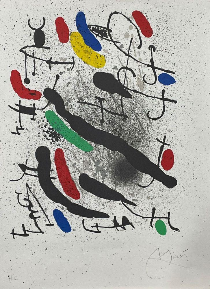 Lithographie Miró - Liberté des libertés 3