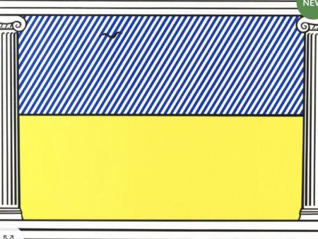 Sérigraphie Lichtenstein - Liberté, from mémoire de la liberté