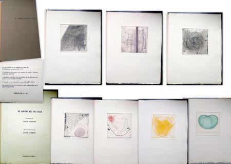 Livre Illustré Corbero - Libro de Artista - El jardín de tu casa