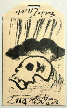 Sérigraphie Cucchi - Libro schiavo
