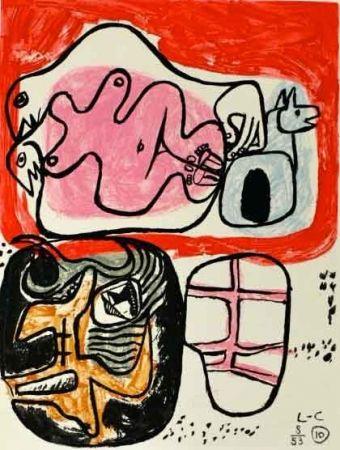 Eau-Forte Le Corbusier - Libro UNITÉ
