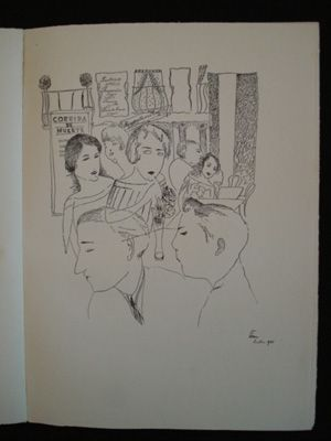 Livre Illustré Sima - Lidé z baru
