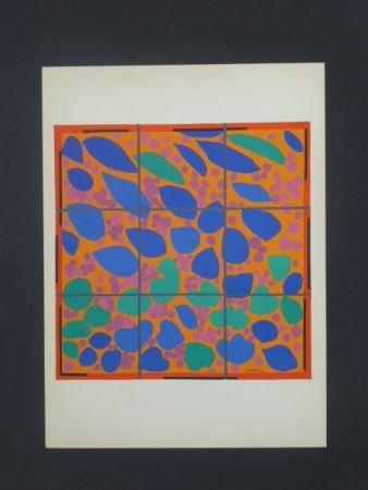 Lithographie Matisse - Lierre en fleurs, 1953