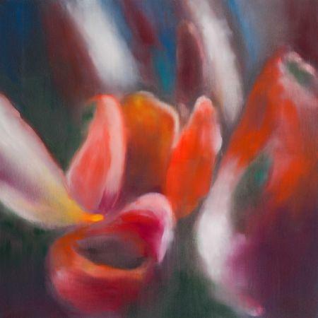 Estampe Numérique Bleckner - Light Flowers I