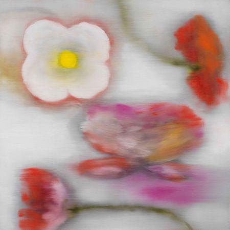 Estampe Numérique Bleckner - Light Flowers II