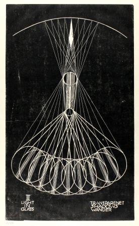 Linogravure Klien,  - Light in Glass III
